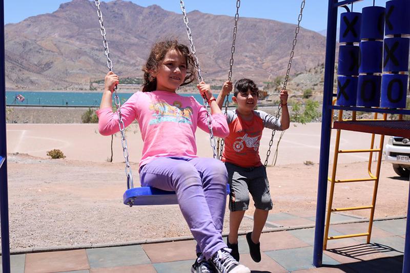 Photo of Destacan inversión en  juegos infantiles en Viñita Alta, Talcuna y Puclaro