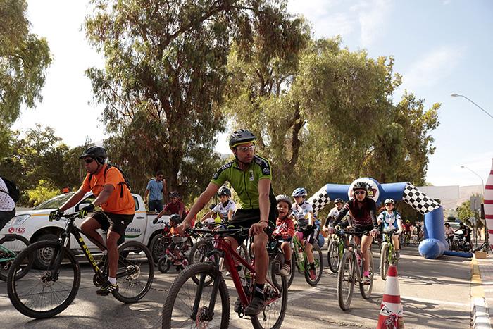 Photo of Éxito total de asistentes en Cicletada Familiar Vicuña-Diaguitas