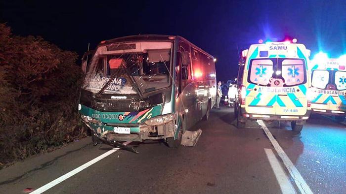 Photo of Quebrada de Talca: Dos personas fallecidas en accidente de tránsito en la ruta 41 CH