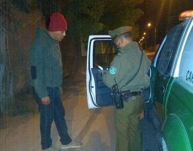 Photo of Más de 30 personas han sido infraccionadas por no respetar el toque de queda en Vicuña