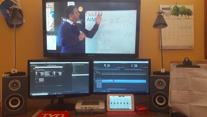 Photo of DAEM Vicuña inicia clases virtuales televisadas para toda la comunidad