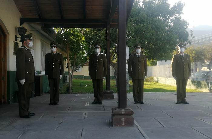 Photo of Carabineros conmemora su aniversario 93 con intimas ceremonia de izamiento de la bandera
