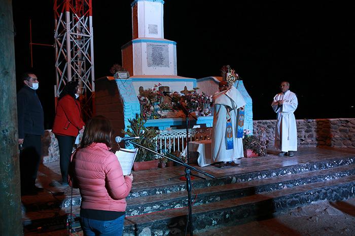 Photo of Desde el Cerro de la Virgen bendicen al valle de Elqui en esta Semana Santa