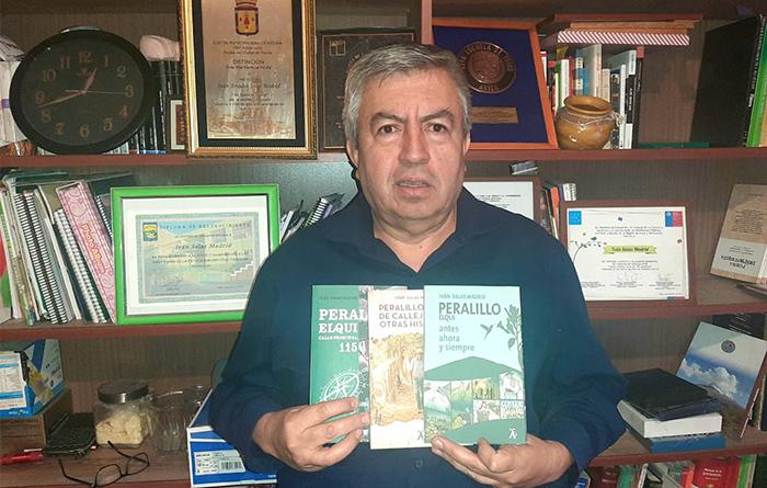 """Photo of Escritor Peralillano presentará por plataformas virtuales el último libro de su trilogía """"Peralillo Elqui"""""""