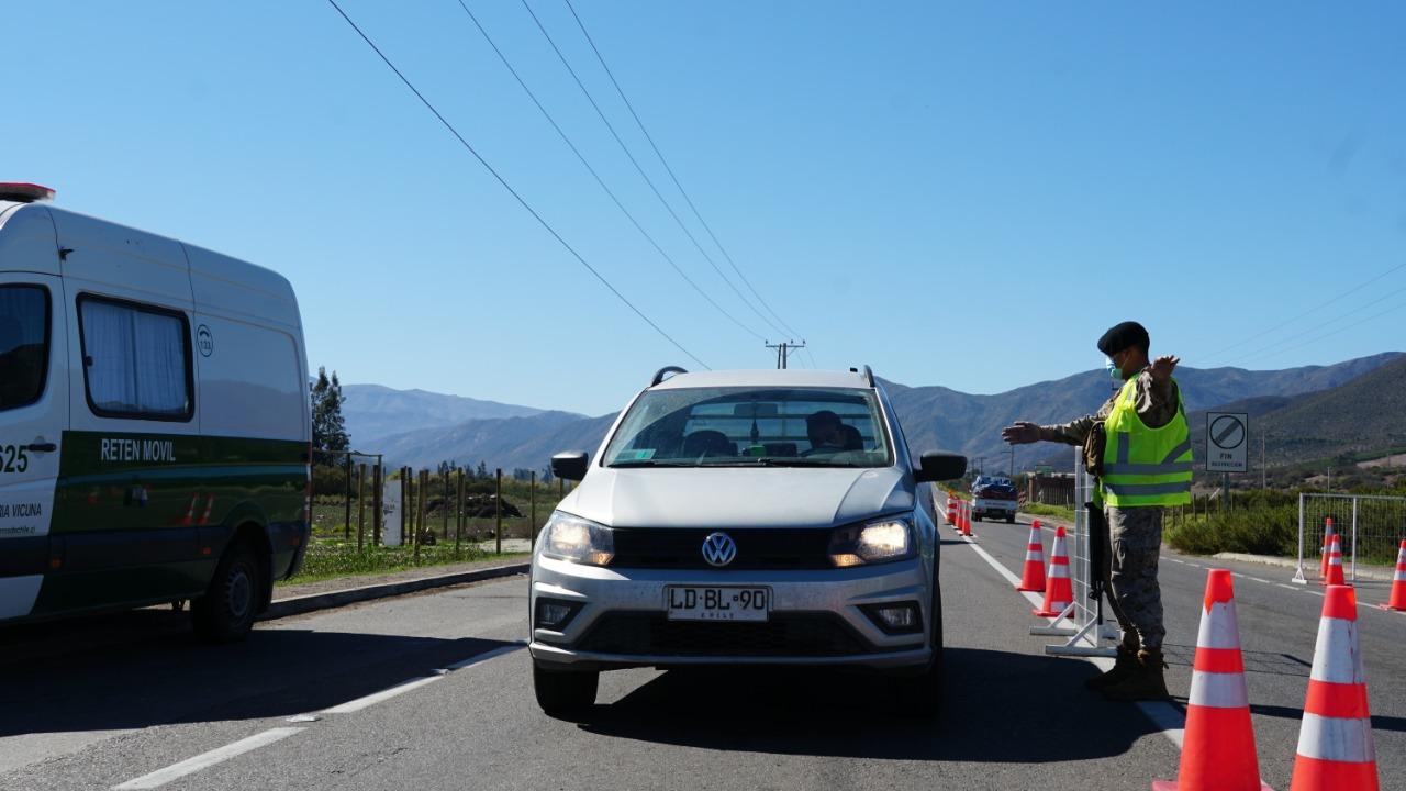 Photo of Drástica disminución de traslados entre Vicuña y La Serena con cuarentena de la capital regional