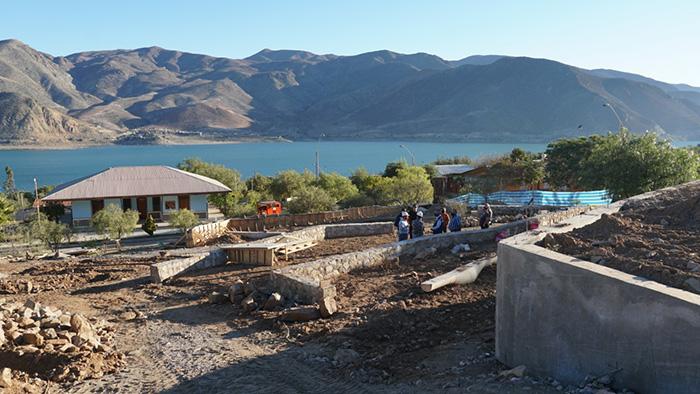 Photo of Proyecto de la Plaza de Gualliguaica se encuentra con un avance cercano al 40%