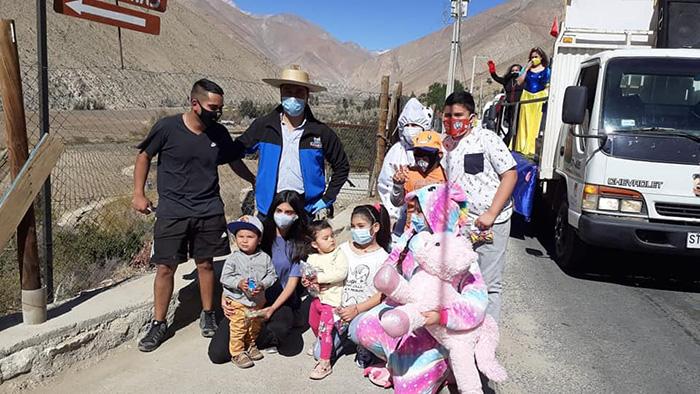 Photo of Paihuano celebró el Día del Niño con caravana multicolor
