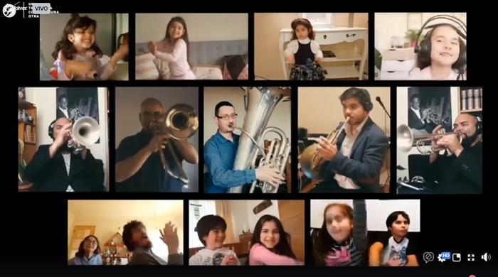 Photo of Elquina TV:  OSULS regaló un especial de música de película a niños y niñas en su día