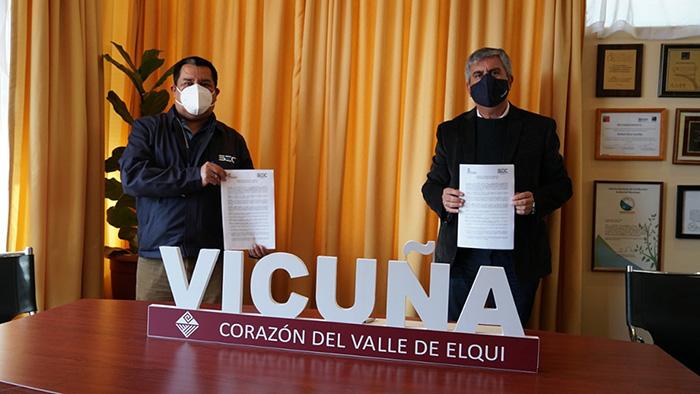 Photo of SEC firma convenio para que habitantes de Vicuña presenten en el municipio reclamos vinculados a los energéticos