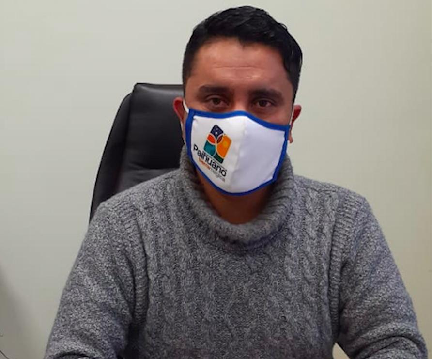 """Photo of Hernán Ahumada, alcalde de Paihuano:""""Yo creo que la estrategia que hicimos que al comienzo fue bastante criticada, fue tomar medidas anticipadas»"""