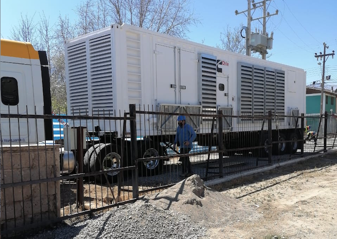 Photo of CGE avanza en los trabajos de instalación de generador para la comuna de Vicuña