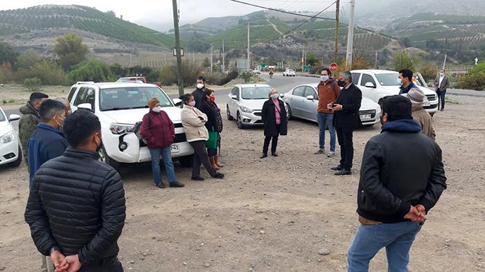 Photo of Inician trabajos comprometidos por el MOP en acceso a Peralillo y Diaguitas en la Ruta CH-41