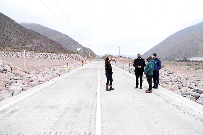 Photo of Andacollito y La Campana ya cuentan con camino interior 100% pavimentado