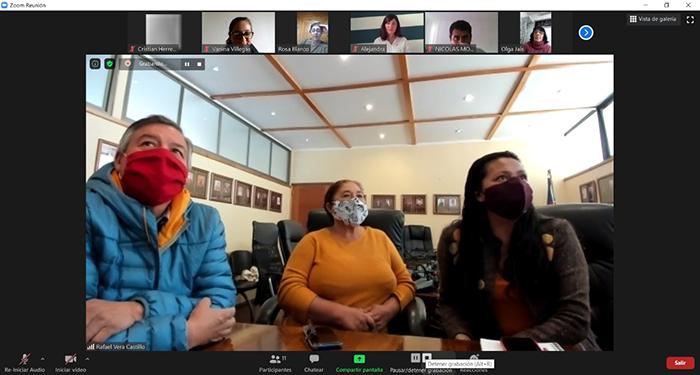 Photo of Dirigentes sociales de Vicuña y San Juan Argentina avanzan en agenda de trabajo y hermanamiento