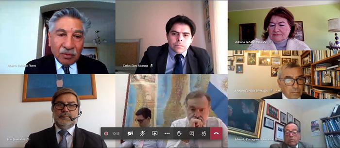 Photo of Embajador de Argentina en Chile reitera respaldo a Túnel Agua Negra en reunión virtual con consejeros regionales