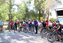 """Photo of Exitosa """"Cicletada Familiar Bicentenario"""" recorrió la ruta Vicuña-Diaguitas"""