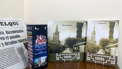 """Photo of Libro patrimonial """"Vicuña 1821-2021 las voces del Bicentenario"""" será presentado ante la comunidad"""