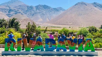 """Photo of Rivadavia"""" ya posee sus letras volumétricas con enfoque en la identidad local"""