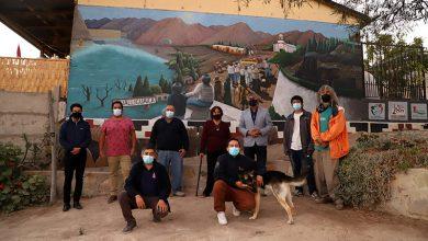 Photo of Gualliguaica cuenta con mural donde conviven lo antiguo con lo moderno destacando la identidad