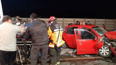Photo of Cuatro lesionados deja  choque múltiple en Altovalsol