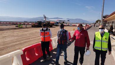 Photo of Un 10% de avance presentan trabajos de reposición en Aeródromo La Florida