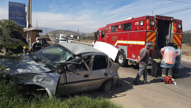 Photo of Accidente de tránsito en Gabriela Mistral deja 3 lesionados en La Serena
