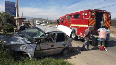 Photo of Accidente de tránsito en Gabriela Mistral deja 3 lesionados en La Serena
