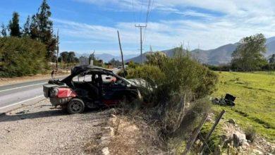 Photo of Motorista muere tras colisión con vehículo en la Ruta 41CH, sector de Marquesa