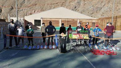 Photo of En Paihuano entregan implementos deportivos a Taller de Tenis comunal que inició práctica presencial