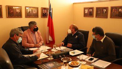 Photo of Alcalde Rafael Vera e intendente Pablo Herman afinan detalles para aprobación de proyectos
