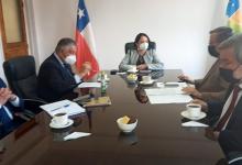 Photo of CORE dialogó con la Gobernadora Krist Naranjo sobre iniciativa de integración binacional