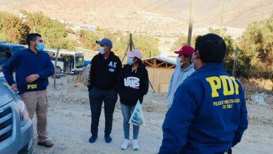 Photo of PDI fiscaliza a trabajadores migrantes en fundos agrícolas de Vicuña y Paihuano